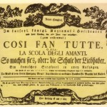 Lovers schooled: Mozart's Cosi fan tutte.
