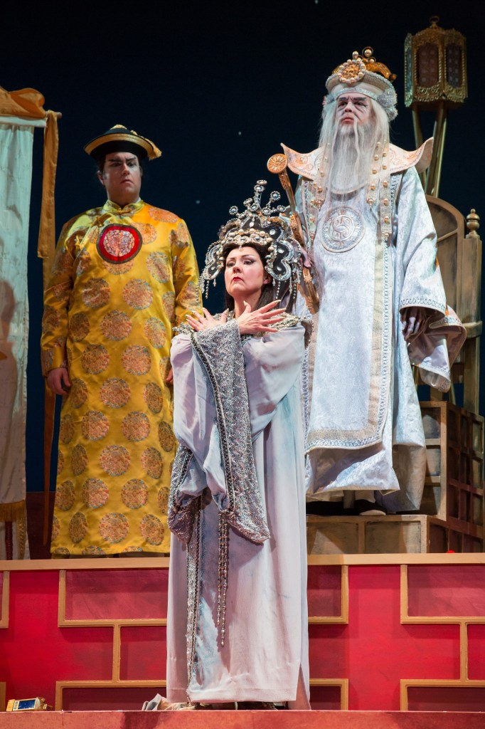 Brenda Harris as Turandot.  Photo by Rod Millington and Sarasota Opera