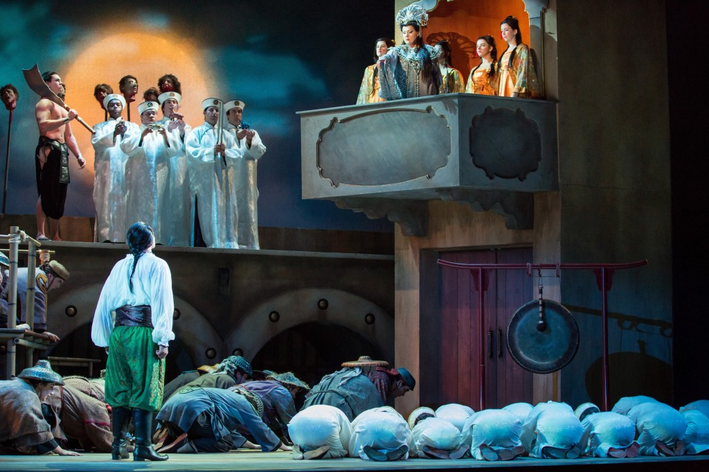 Sarasota Opera production of Puccini's TURANDOT. Photo by Rod Millington and Sarasota Opera