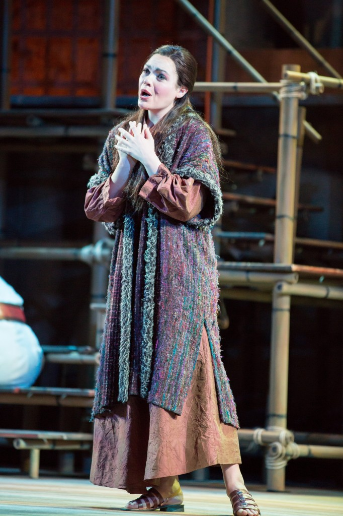 Soprano Maria Natale as Liu in Sarasota Operas production of TURANDOT. Photo by Rod Millington and Sarasota Opera